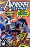 Avengers West Coast #70 comic books for sale