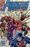 Avengers West Coast #74 comic books for sale
