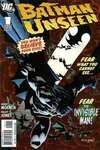 Batman: Unseen comic books