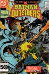 Batman and the Outsiders #22 comic books for sale