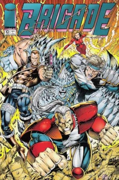 Brigade #10 comic books for sale