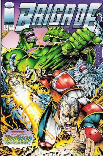 Brigade #11 comic books for sale