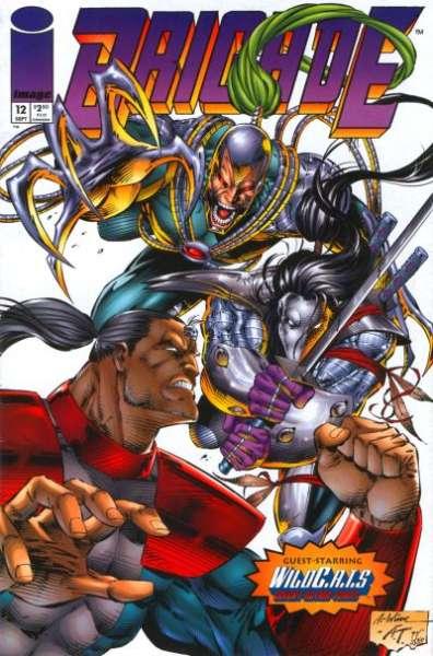 Brigade #12 comic books for sale