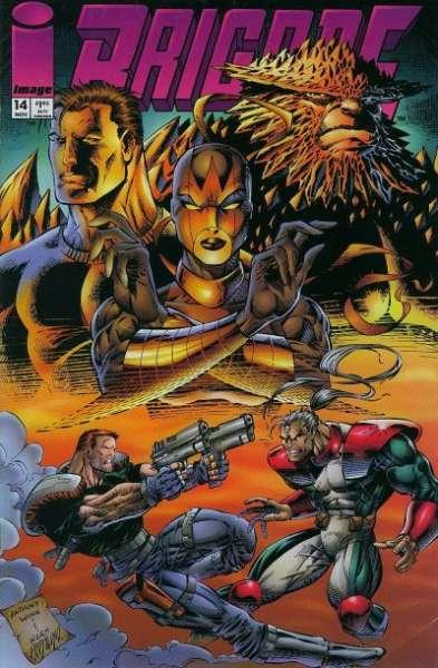 Brigade #14 comic books for sale
