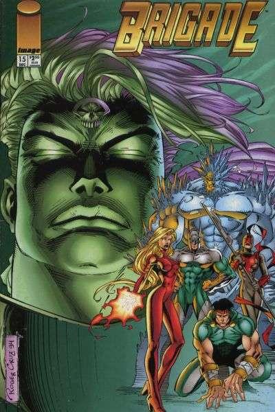 Brigade #15 comic books for sale