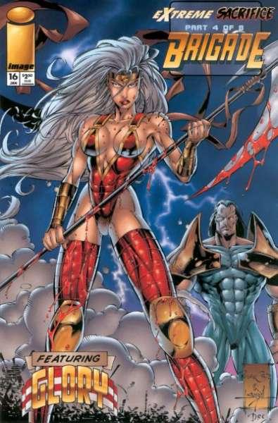Brigade #16 comic books for sale