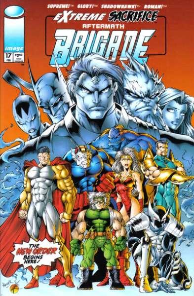 Brigade #17 comic books for sale