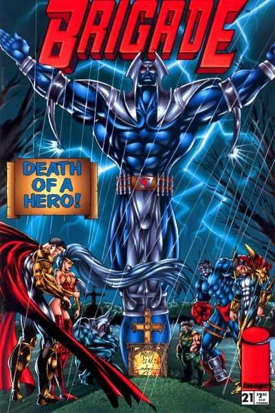 Brigade #21 comic books for sale