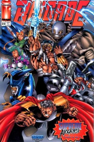 Brigade #22 comic books for sale
