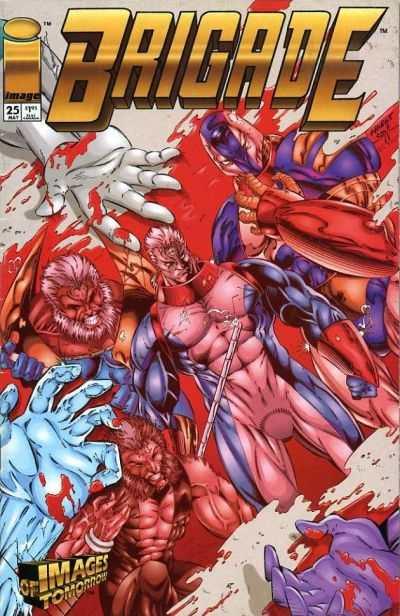 Brigade #25 comic books for sale
