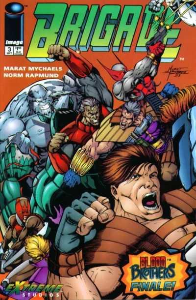 Brigade #3 comic books for sale