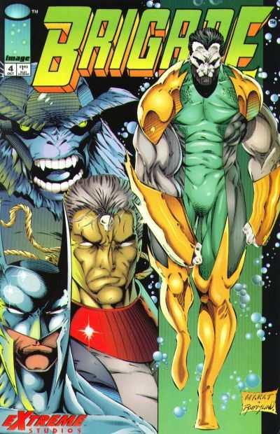 Brigade #4 comic books for sale