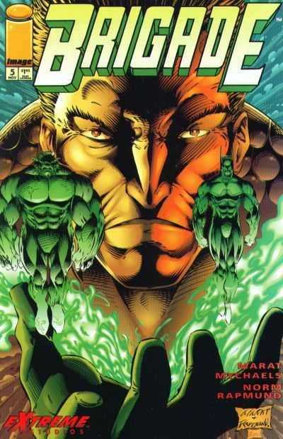 Brigade #5 comic books for sale