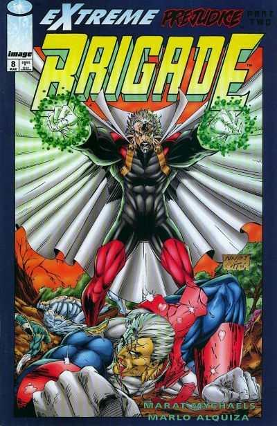 Brigade #8 comic books for sale