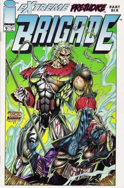 Brigade #9 comic books for sale