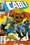 Cable #4 Comic Books - Covers, Scans, Photos  in Cable Comic Books - Covers, Scans, Gallery