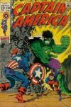 Captain America #110 Comic Books - Covers, Scans, Photos  in Captain America Comic Books - Covers, Scans, Gallery