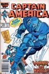 Captain America #318 comic books for sale