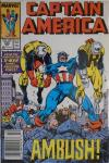 Captain America #346 Comic Books - Covers, Scans, Photos  in Captain America Comic Books - Covers, Scans, Gallery