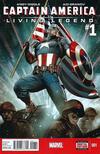 Captain America: Living Legend Comic Books. Captain America: Living Legend Comics.