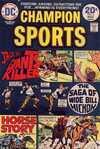 Champion Sports #3 comic books for sale