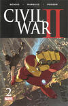 Civil War II #2 comic books for sale