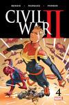 Civil War II #4 comic books for sale