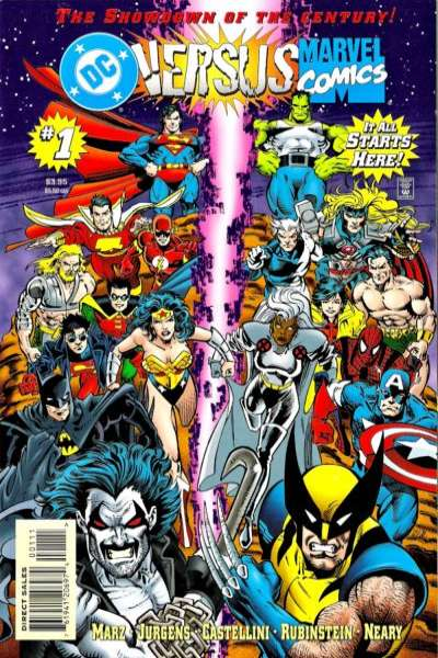 DC versus Marvel Comic Books. DC versus Marvel Comics.