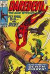 Daredevil #76 comic books for sale
