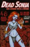 Dead Sonja: She-Zombie with a Sword #1 comic books for sale