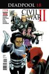 Deadpool #18 comic books for sale