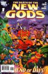 Death of the New Gods comic books