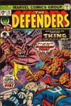 Defenders #20 comic books for sale