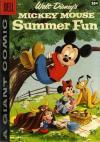 Dell Giant Comics: Mickey Mouse Summer Fun comic books