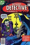 Detective Comics #475 Comic Books - Covers, Scans, Photos  in Detective Comics Comic Books - Covers, Scans, Gallery