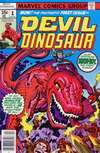 Devil Dinosaur comic books