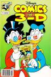 Disney's Comics in 3-D #1 Comic Books - Covers, Scans, Photos  in Disney's Comics in 3-D Comic Books - Covers, Scans, Gallery