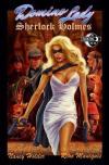 Domino Lady/Sherlock Holmes comic books