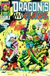 Dragon's Claws #3 comic books for sale