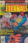 Eternals #16 comic books for sale