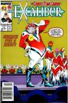 Excalibur #17 comic books for sale