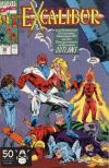 Excalibur #36 comic books for sale