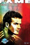 Fame: David Beckham comic books