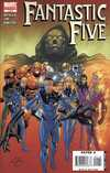 Fantastic Five comic books