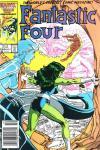 Fantastic Four #295 Comic Books - Covers, Scans, Photos  in Fantastic Four Comic Books - Covers, Scans, Gallery