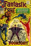 Fantastic Four #59 Comic Books - Covers, Scans, Photos  in Fantastic Four Comic Books - Covers, Scans, Gallery