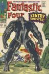 Fantastic Four #64 Comic Books - Covers, Scans, Photos  in Fantastic Four Comic Books - Covers, Scans, Gallery