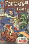 Fantastic Four #65 Comic Books - Covers, Scans, Photos  in Fantastic Four Comic Books - Covers, Scans, Gallery