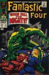 Fantastic Four #70 Comic Books - Covers, Scans, Photos  in Fantastic Four Comic Books - Covers, Scans, Gallery