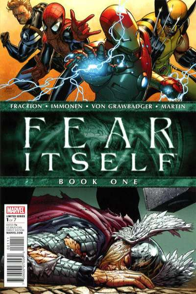 Fear Itself comic books